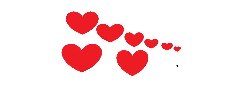 hjärtan på tråd